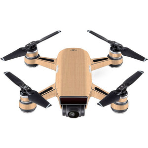 DJI Spark WOOD Maple Skin