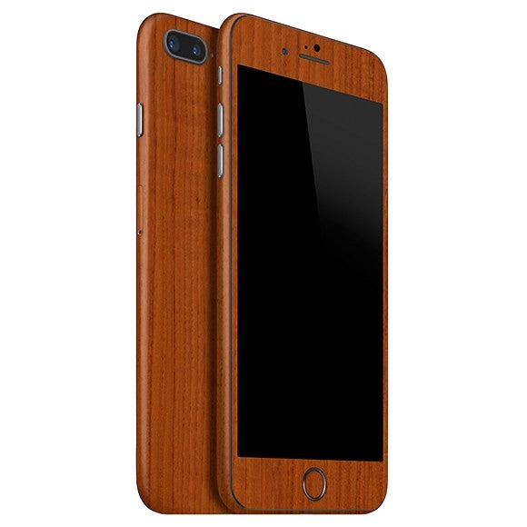 iPad 7 Plus WOOD Teak Skin