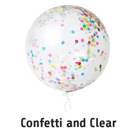 Confetti and Clear