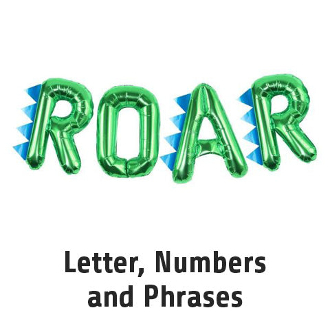 Letter, Numbers and Phrases