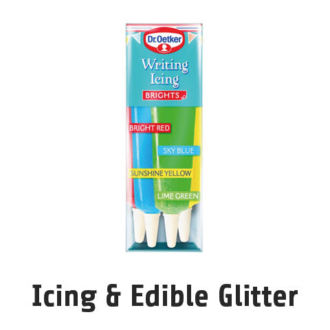 Icing and Edible Glitter