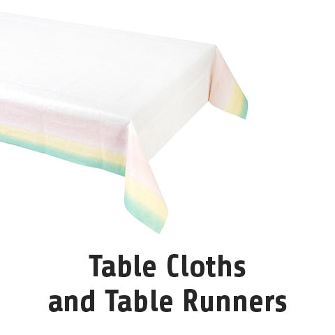 Table Cloths and Table Runners