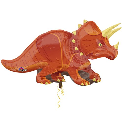 "Triceratops SuperShape Balloon - 42"" Foil"