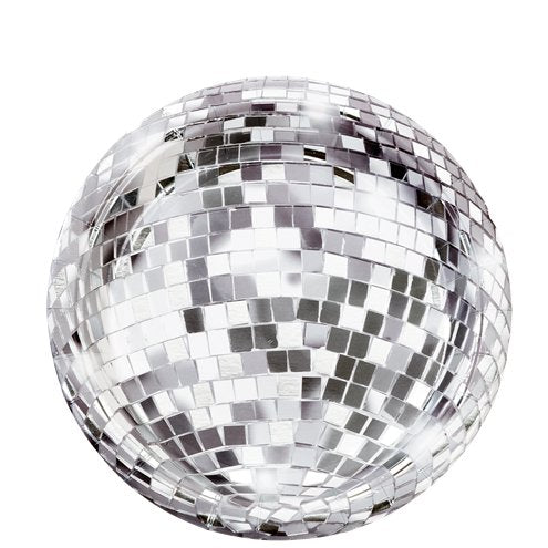 Disco Ball Paper Plates