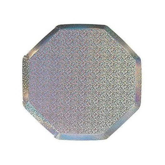 Silver Sparkle Side Plates