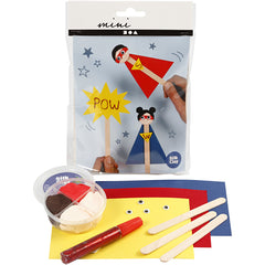 Mini Craft Kit - Superhero