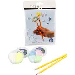Mini Creative Kit - Rainbow Pencil Toppers