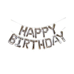 'Happy Birthday' Foil Balloon Garland