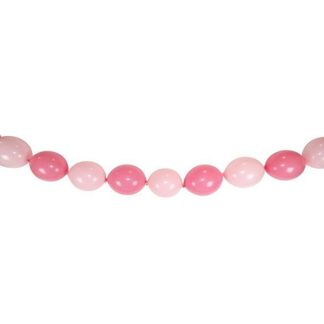 12' Pastel pink quick link balloons