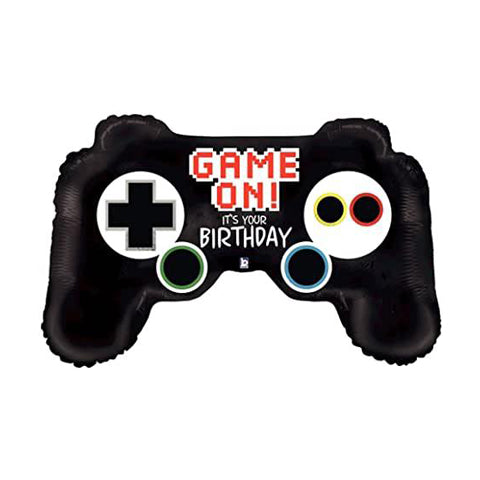 "36"" foil gaming controller balloon"