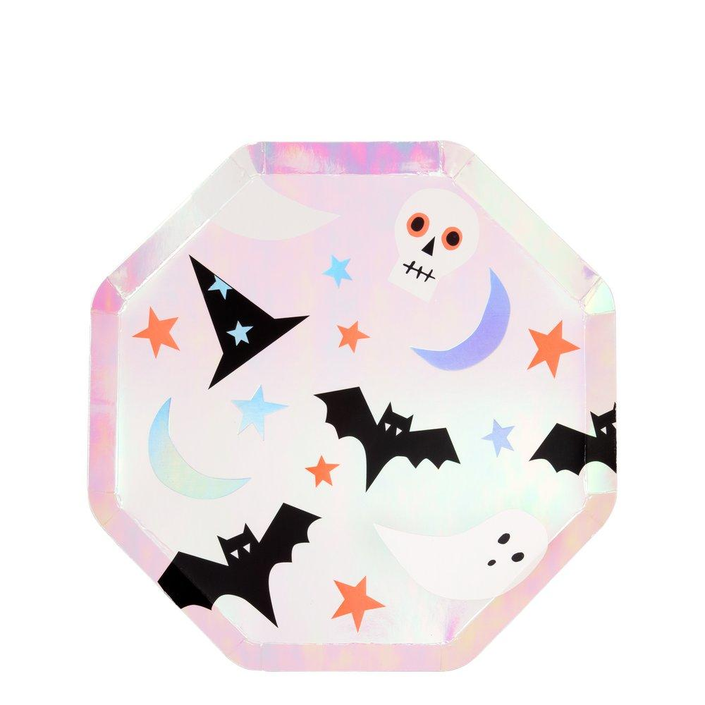 HALLOWEEN ICON SIDE PLATES