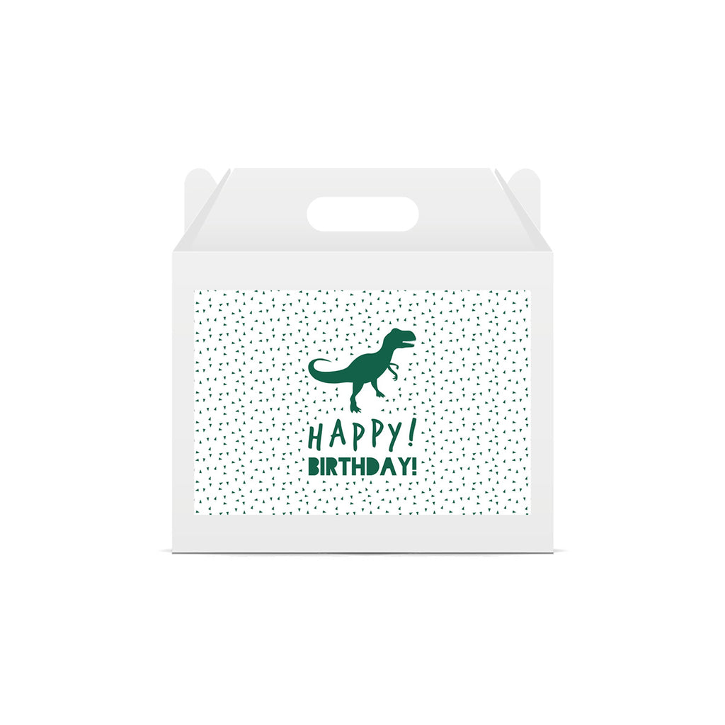 Dinosaur 'Happy Birthday' Lunch Box Stickers
