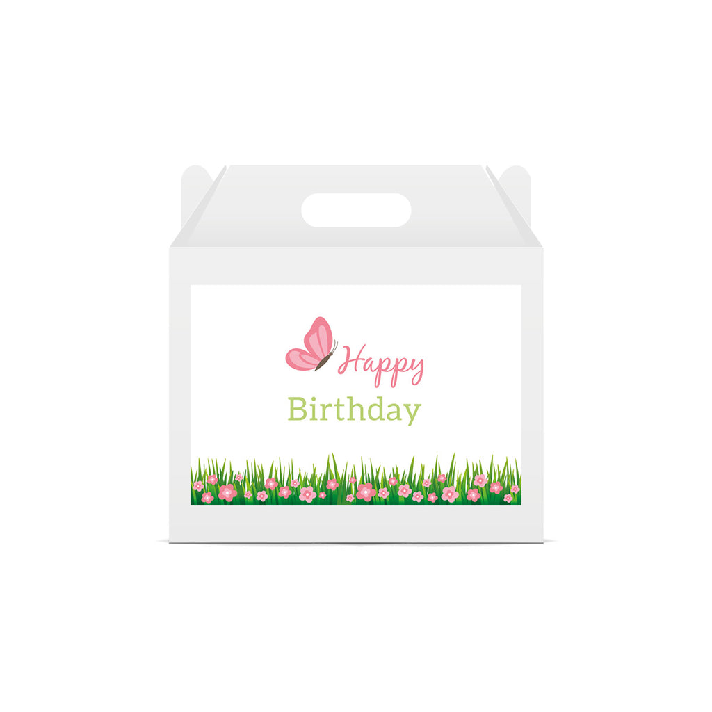 Fairy Garden 'Happy Birthday' Lunch Box Stickers
