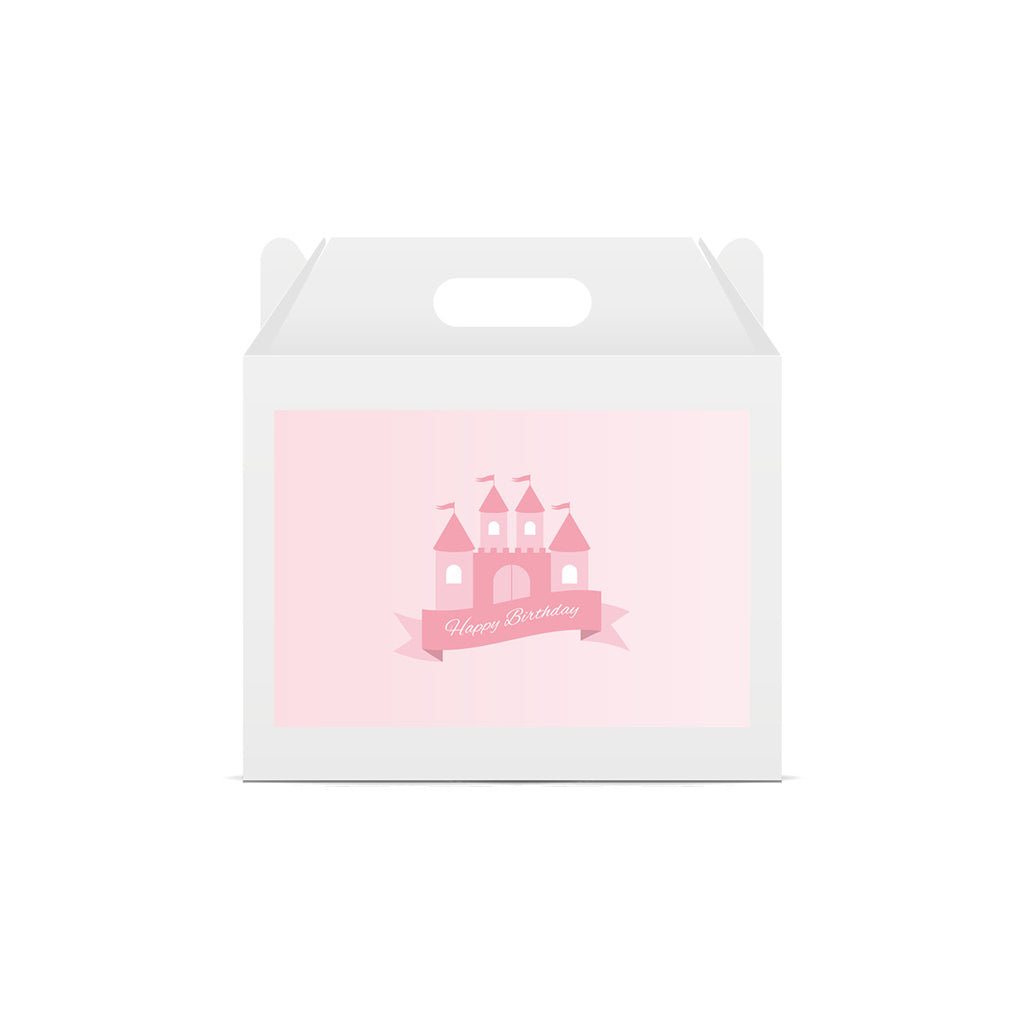 Princess 'Happy Birthday' Lunch Box Stickers