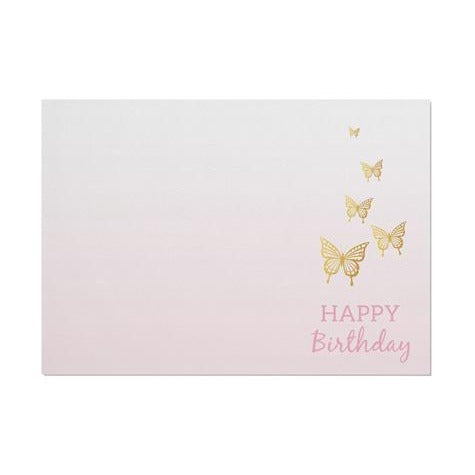 Butterflies 'Happy Birthday' Placemat