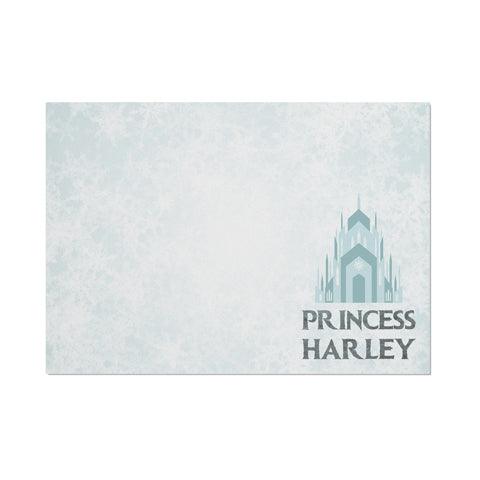 Personalised Frozen Princess Themed Placemat