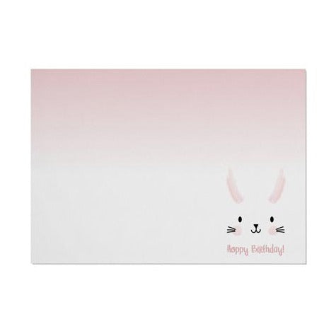 Bunny 'Hoppy Birthday' Placemat