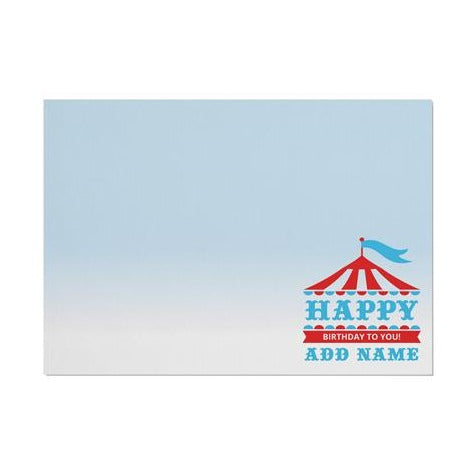 Personalised Circus Placemat