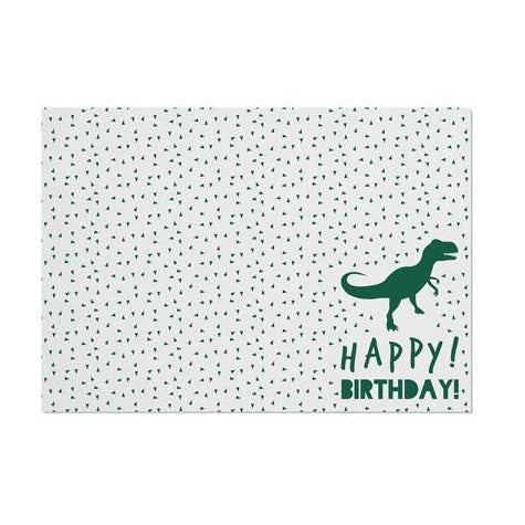 Dinosaur 'Happy Birthday' Placemat