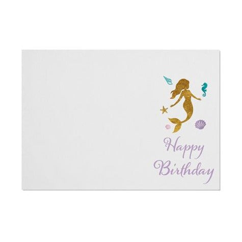 Mermaid 'Happy Birthday' Placemat