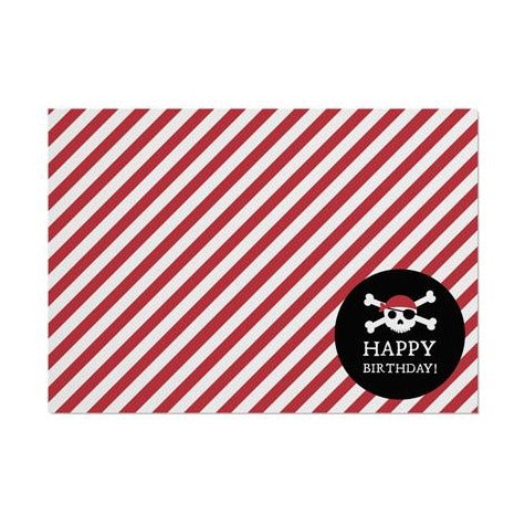 Pirate Striped Placemat