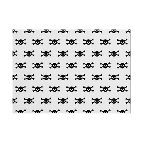 Pirate Skull Pattern Placemat