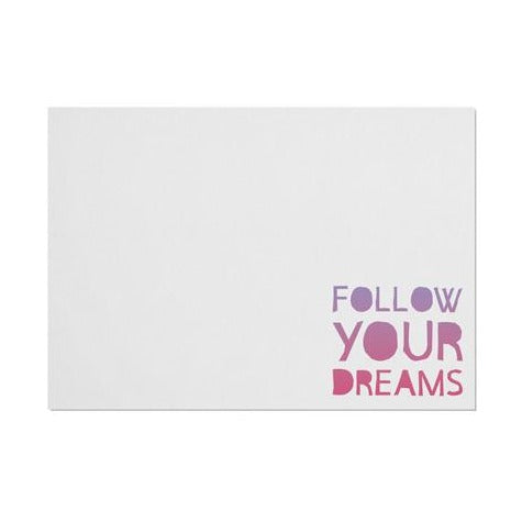 Unicorn 'Follow You Dreams' Placemat
