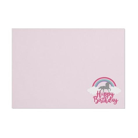 Unicorn 'Happy Birthday' Placemat