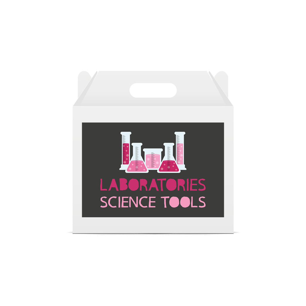 Science Themed Lunch Box Stickers