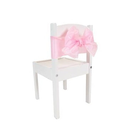 Pink Organza Chair Ties