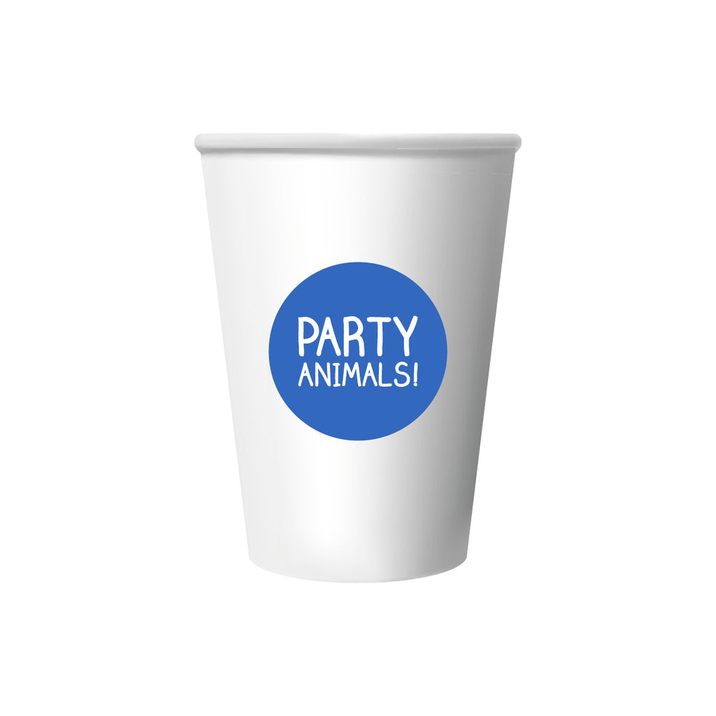 Party Animals Cup Stickers