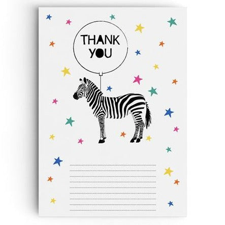 Party Animal 'Let's Party' Thank You Cards