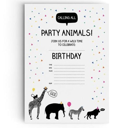 Party Animal Invitations