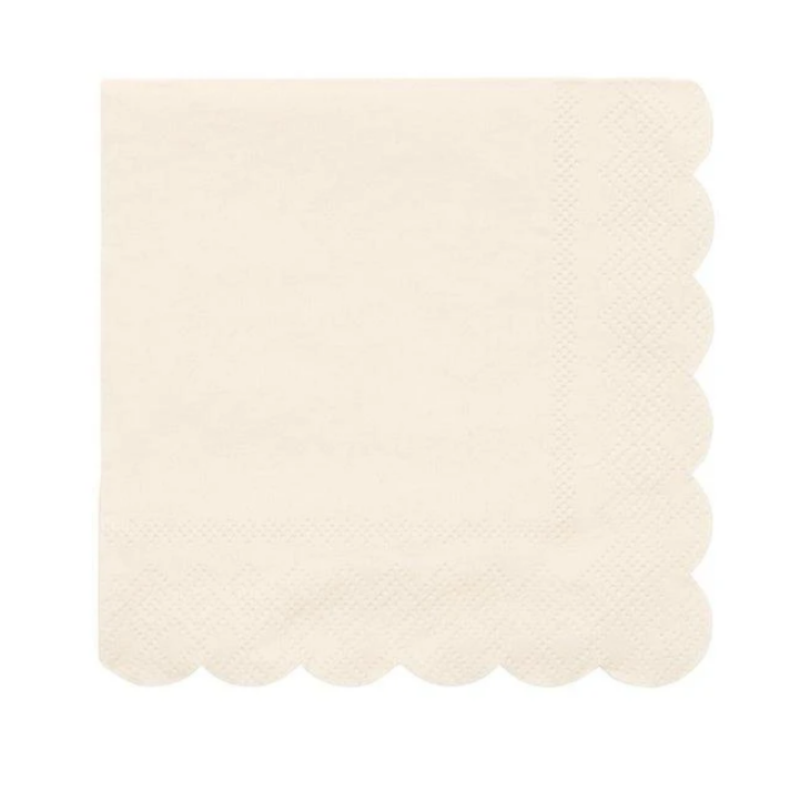 Cream Small Napkins