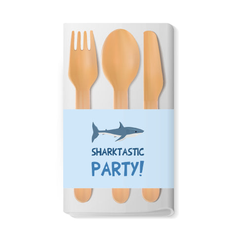 Shark Themed Napkin Wraps