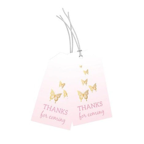 Fairy 'Thanks for coming' Tags
