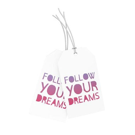 Unicorn 'Follow your dreams' Tags