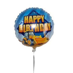 "18"" 'Happy Birthday' Digger Balloon"