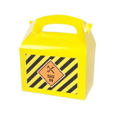 Yellow Lunch Boxes with Sticker