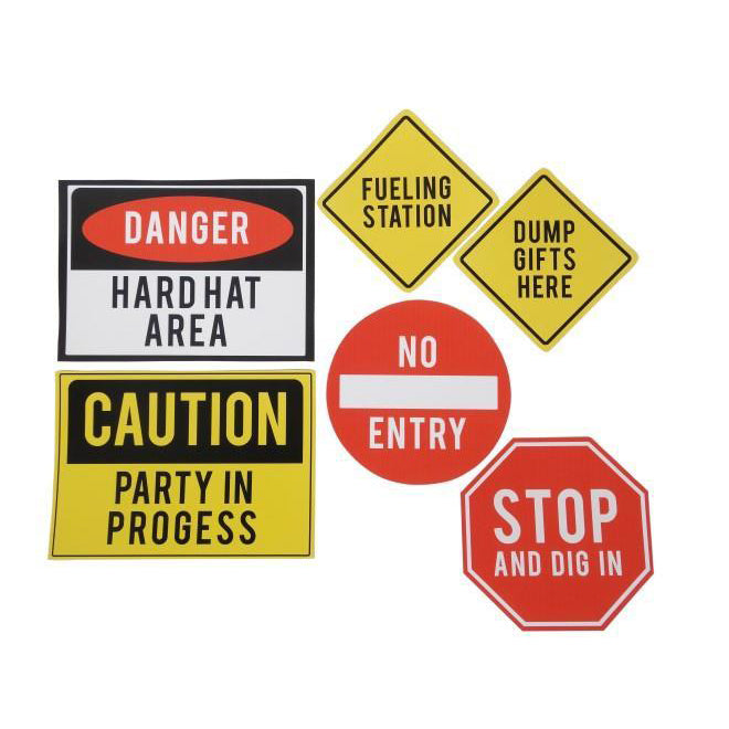 Downloadable A4 Construction Signs