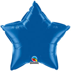 "18"" Blue Star Foil Balloon"