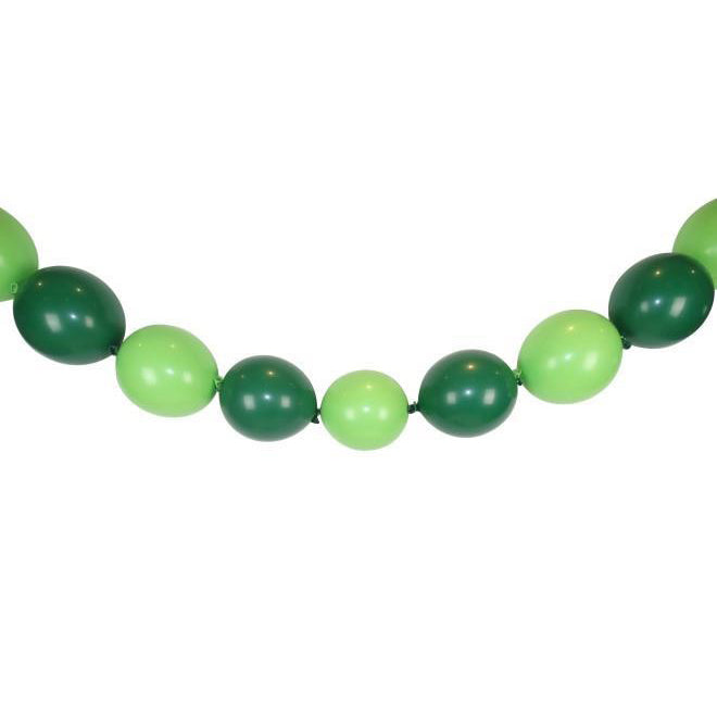 "12"" Green Balloon Garland"