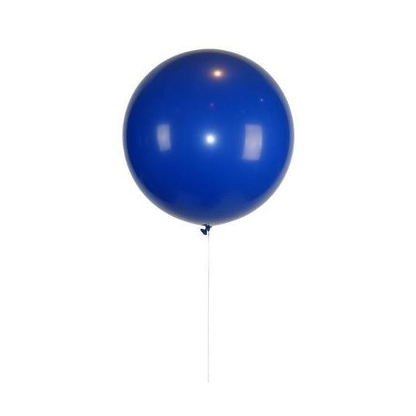 30' Blue Latex Balloon