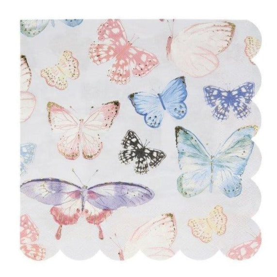 Large Butterfly Napkins