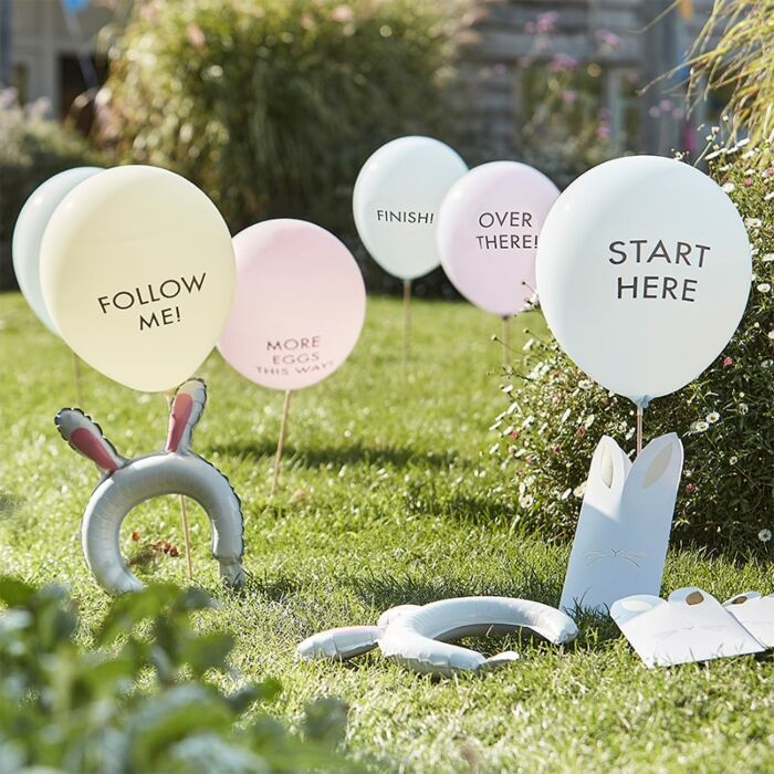 Easter Egg Balloon Hunt Kit