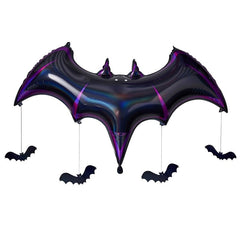 BAT BLACK FOIL HALLOWEEN BALLOON