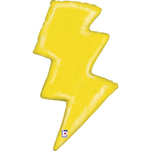 Lightening Bolt Foil Balloon