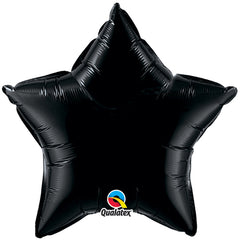 "20"" Black Foil Star Balloon"