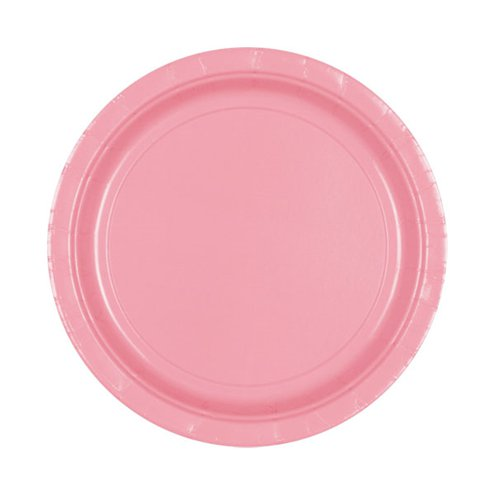 Pale Pink Paper Plates