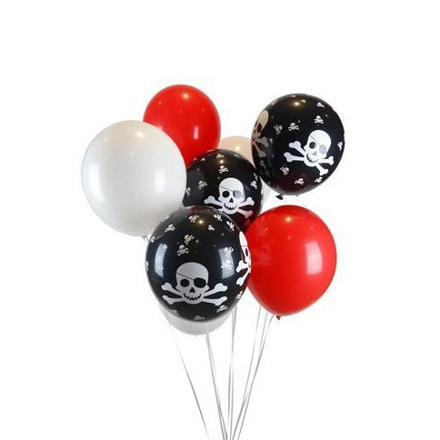 "Pirate Inspired 11"" Latex Balloon Pack"